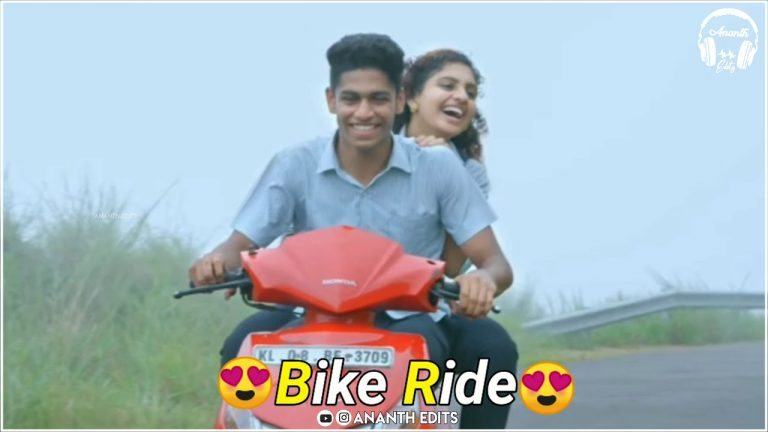 Couple Bike Ride WhatsApp Status Video Download